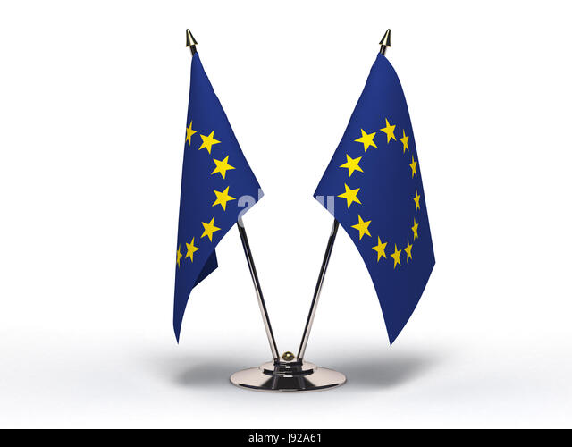 flag, meeting, diplomacy, conference, meet, blue, small, tiny, little, short, - Stock Image