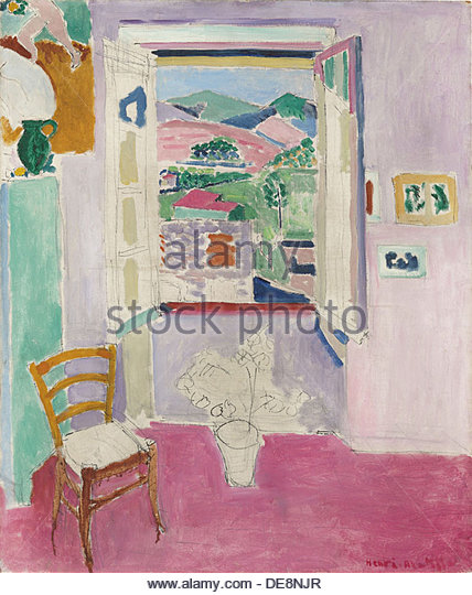 Painting matisse stock photos painting matisse stock for Henri matisse fenetre ouverte