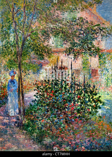 Monet Garden Painting Stock Photos Amp Monet Garden Painting