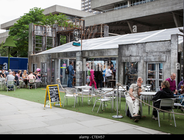 national theatre cafe in london stock photos national theatre cafe in london stock images alamy. Black Bedroom Furniture Sets. Home Design Ideas