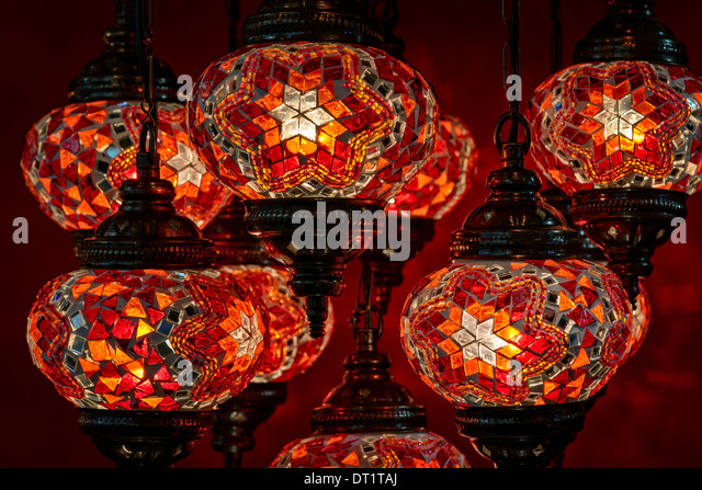 Turkish lamps stock photos turkish lamps stock images alamy close up of decorative turkish lamps at the grand bazaar in istanbul turkey aloadofball Choice Image