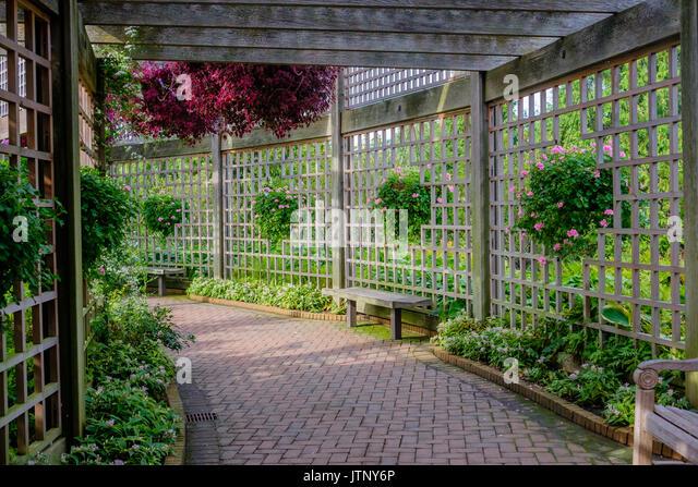 Garden Enclosure   Stock Image
