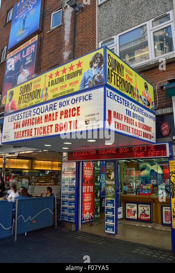 Leicester square ticket booth stock photos leicester - Leicester city ticket office contact number ...