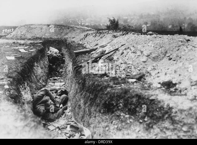 French Ww1 Trenches Stock Photos & French Ww1 Trenches Stock ...