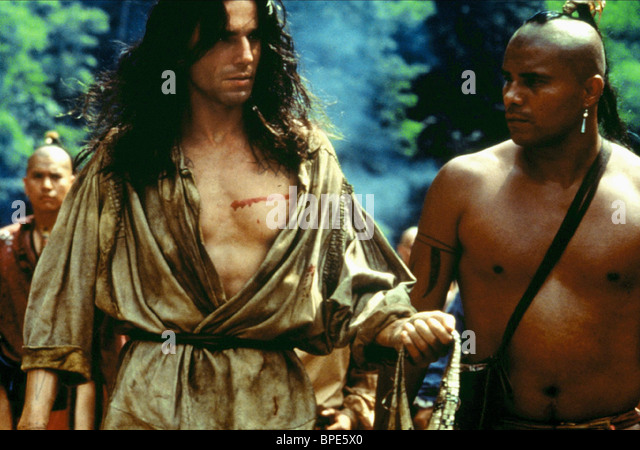 Daniel Day Lewis Last Mohicans 1992 Stock Photos & Daniel ...
