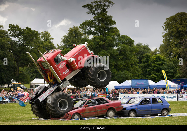 Monster Truck Jump Stock Photos Monster Truck Jump Stock Images
