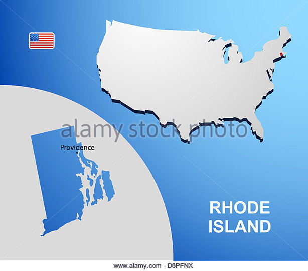 Rhode Island State Map Stock Photos Rhode Island State Map Stock - Usa map rhode island