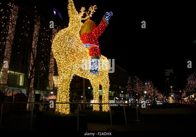 berlin christmas market breitscheidplatz stock photos. Black Bedroom Furniture Sets. Home Design Ideas