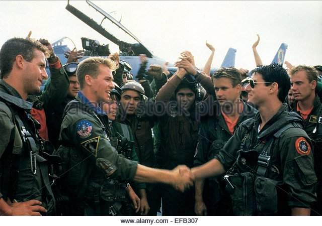 ¿Cuánto mide Tom Cruise? - Altura - Real height Val-kilmer-tom-cruise-top-gun-1986-efb307