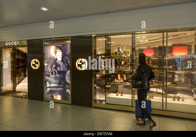 Gucci shop stock photos gucci shop stock images alamy for Gucci hotel dubai