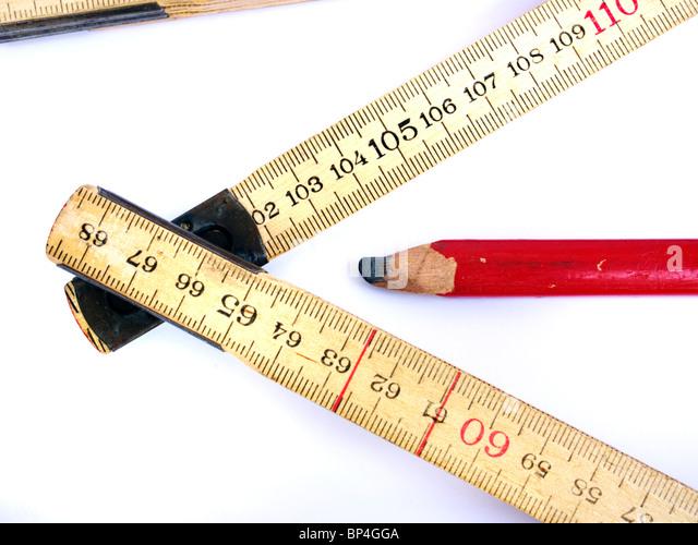 Tape Measure Pencil Stock Photos Amp Tape Measure Pencil