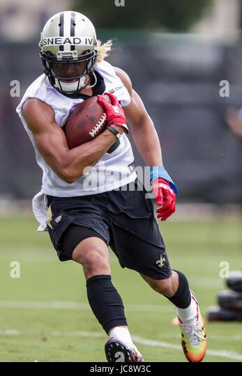3c85251ec ... 2017 - New Orleans Saints wide receiver Willie Snead IV (83) ...