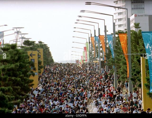 Sydney Olympic Park 2000 Stock Photos