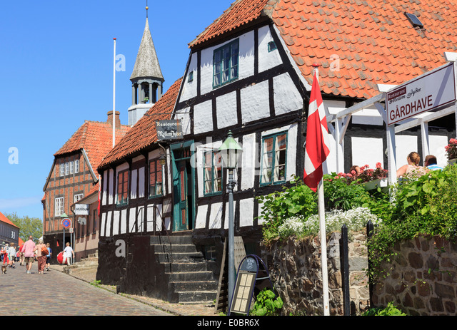 Jutland cobbled street stock photos jutland cobbled street stock images alamy - The jutland small house ...