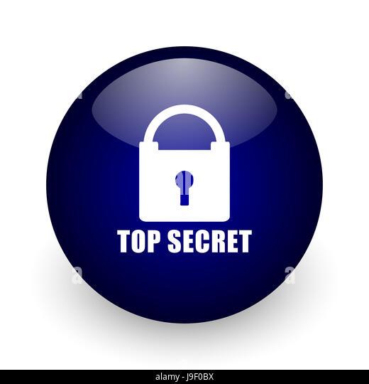 Confidential Icon Confidential Website Button Stock Photos