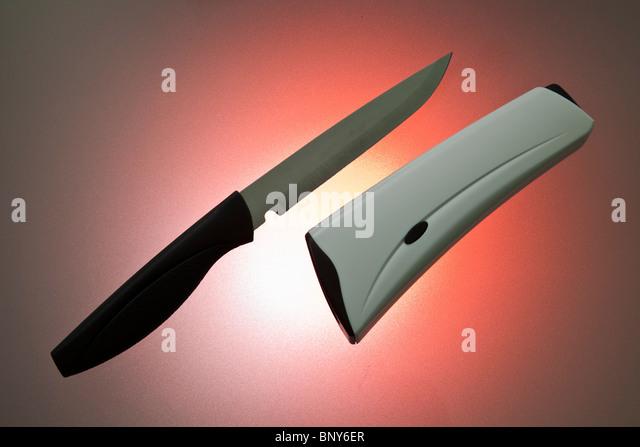 self sharpening knife stock image