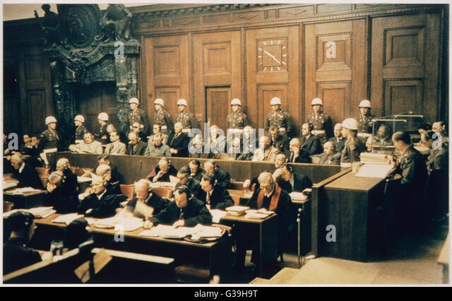 nuremberg trials research paper outline No trial provides a better basis for understanding the nature and causes of evil than do the nuremberg trials from 1945 to 1949.