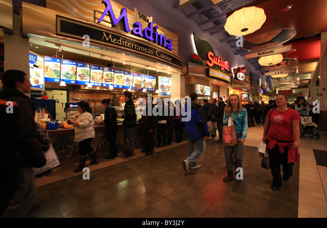 Ontario Mills Food Court Restaurants