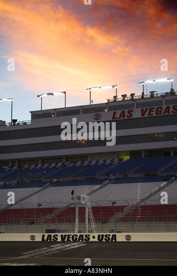 Speedway race track stock photos speedway race track for Hotels by las vegas motor speedway