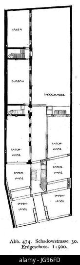 Mendelssohn Haus An Der Schadowstrasse 30 In Dusseldorf Umgebaut 1902 Architekt Richard Hultsch