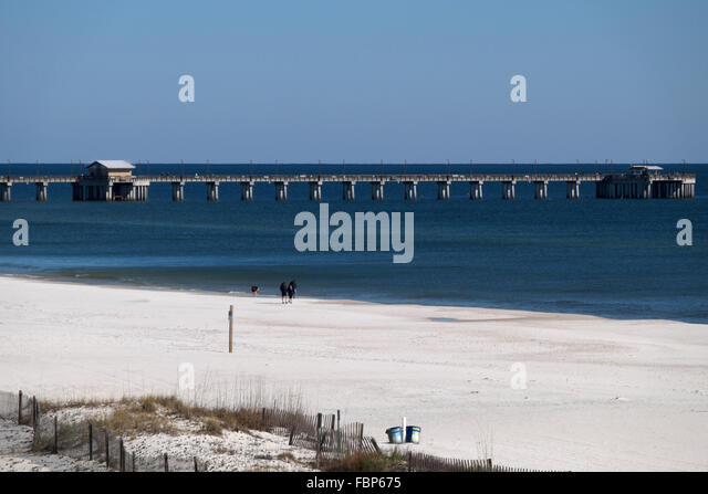 Gulf state park stock photos gulf state park stock for Pier fishing gulf shores al