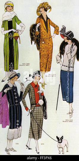 1920s fashions stock photos 1920s fashions stock images for Miroir des modes value