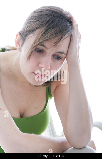 35 40 Woman Sitting Nervous Stock Photos & 35 40 Woman ...