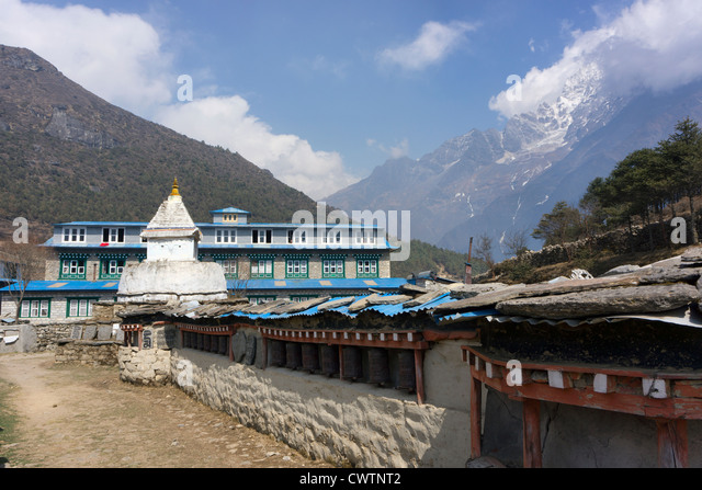 Namche Bazaar Stock Photos & Namche Bazaar Stock Images ...