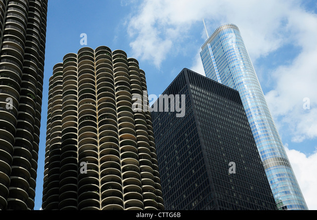 Chicago Bilder ibm building chicago stock photos ibm building chicago stock