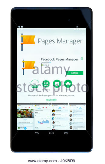 Facebook page manager app for pc