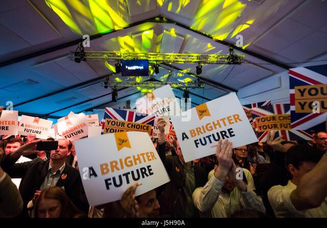 London, UK. 17th May, 2017. Liberal Democrats General Election Manifesto Launch © Guy Corbishley/Alamy Live - Stock Image