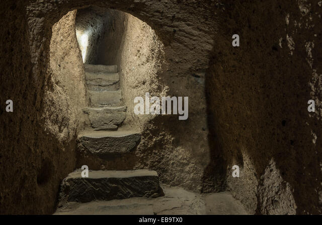 Kaymakli Underground City Stock Photos & Kaymakli Underground City Stock ...