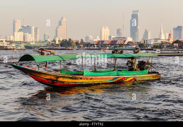 Longtail Boat Bangkok Stock Photos & Longtail Boat Bangkok ...