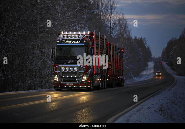 Volvo Truck And Commercial Stock Photos & Volvo Truck And Commercial Stock Images - Alamy
