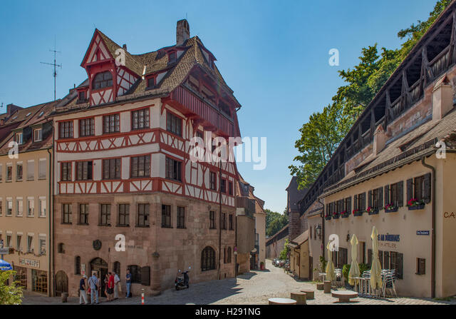 albrecht durer house stock photos albrecht durer house stock images alamy. Black Bedroom Furniture Sets. Home Design Ideas