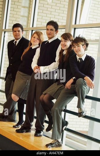 School Uniforms Stock Photos & School Uniforms Stock ...