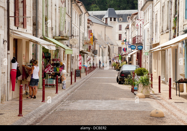 French Village Street Scene Stock Photos & French Village ...