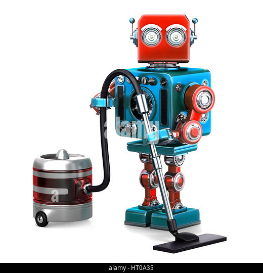 robot hoover stock photos robot hoover stock images alamy. Black Bedroom Furniture Sets. Home Design Ideas
