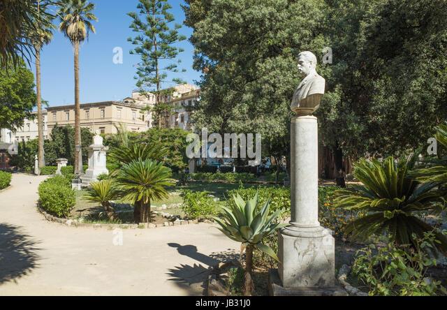 Villa Garibaldi Palermo Strade