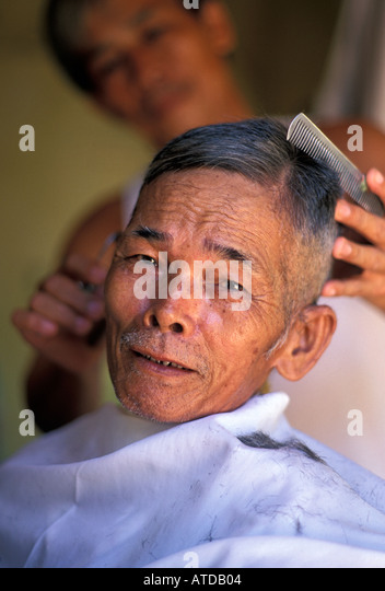 Brilliant Hair Cut Vietnam Stock Photos Hair Cut Vietnam Stock Images Alamy Hairstyle Inspiration Daily Dogsangcom