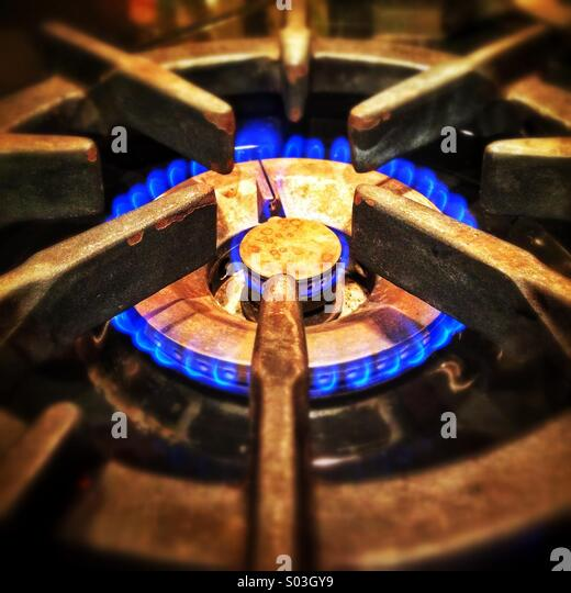 Blue Flame Kitchen: Gas Flame Kitchen Stock Photos & Gas Flame Kitchen Stock