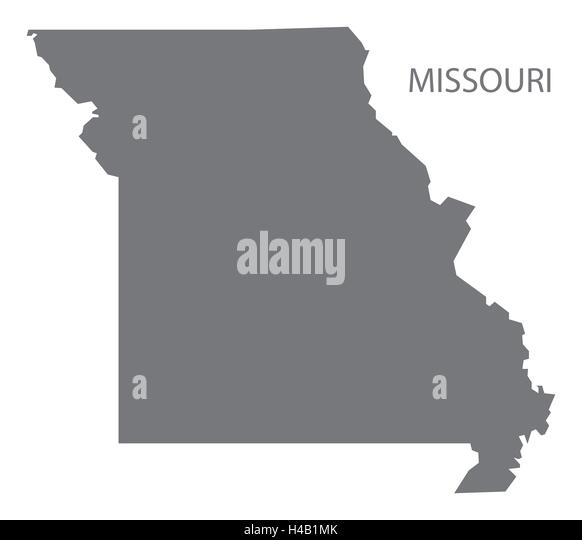 Missouri Map Stock Photos Missouri Map Stock Images Alamy