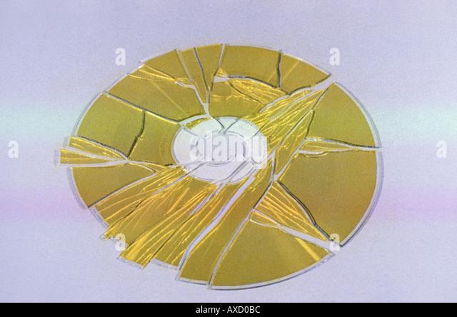 how to fix a broken cd disk