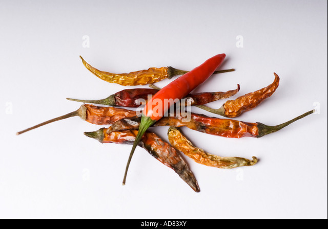how to cook dried red chili peppers