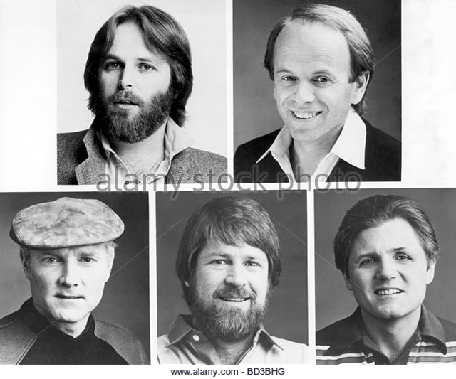 Beach boys music group black and white stock photos for Jardine group