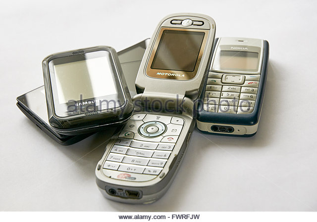 Used Phones Stock Photos & Used Phones Stock Images - Alamy