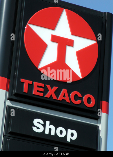 Texaco Logo Stock Photos & Texaco Logo Stock Images - Alamy