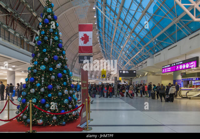 Toronto Canada Christmas Stock Photos Toronto Canada Christmas - The 6 busiest north american airports at christmas