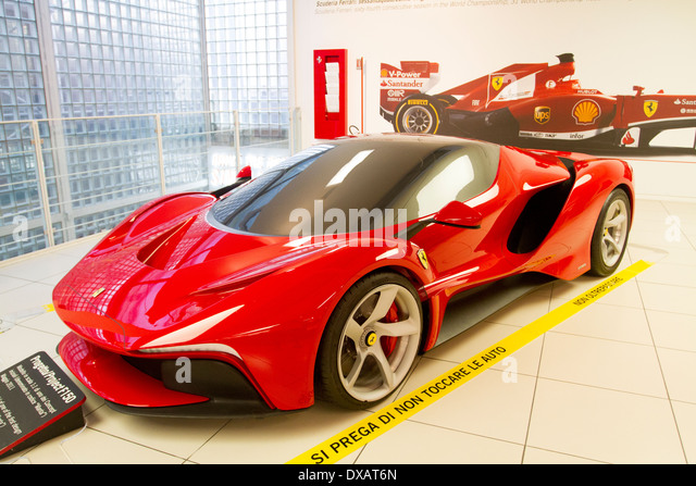 ferrari museum modena stock photos ferrari museum modena. Black Bedroom Furniture Sets. Home Design Ideas