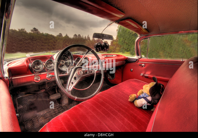 Classic american car dash board stock photos classic for American classic interior